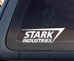 Stark Industries Iron Man Avengers Marvel7 X Etsy