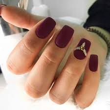 burgundy nails ideas