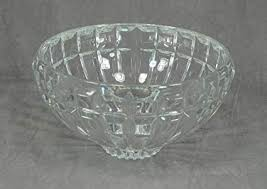 reflections cut crystal bowl