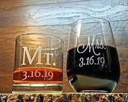 whiskey engraved glasses