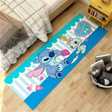 Hot Deal 093cd9 3d Lilo Stitch Corridor Mat160x60cm Bedroom Rugs Kids Room Decorative Play Mat Area Rug Pastoral Carpets For Living Room Cicig Co