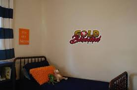 San Francisco 49ers Gold Blooded Wall Decal 25x11 Etsy