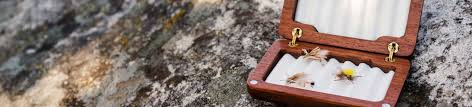 wooden fly box al swanson craftsman