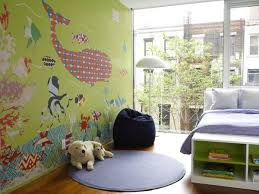 22 Colorful Kids Rooms Modern Wallpaper For Kids Room Design And Decorating