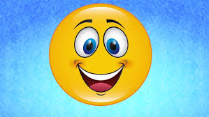 happy face video animation stock