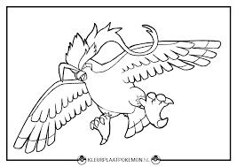 Pidgeot Kleurplaten Gratis Printen Kleurplaat Pokemon