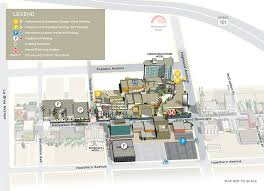 area map dolby theatre