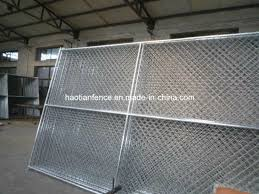 China Portable Chain Link Fence Panels Portable Chain Link Fence Chain Link Portable Fence China Temporary Fence Portable Chain Link Fence