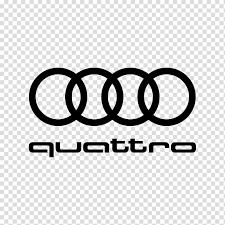 Audi Quattro Audi A4 Audi RS 6 Car, luxury car logo transparent ...