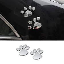 Paw Print Car Decals Pup Headquarters