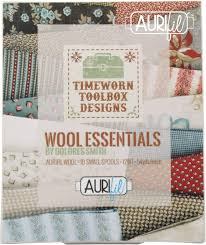 Dolores Smith Wool Essentials Aurifil Thread Kit 10 Small Spools ...