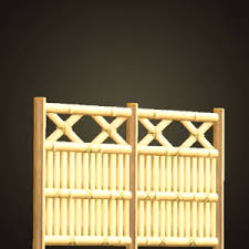 Acnh Bamboo Lattice Fence How To Get Diy Recipe Required Materials Animal Crossing Gamewith