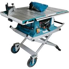 Makita Mlt100x 260mm Table Saw With Trolley Stand Powertool World