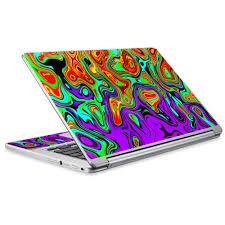 Skin Vinyl Sticker Cover Decal For Acer Chromebook R13 Laptop Notebook Mixed Colors Walmart Com Walmart Com