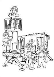 Kids N Fun Kleurplaat Brandweerman Sam Brandweerman Sam