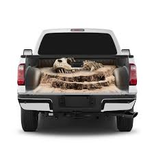 T Rex Fossil Tailgate Wrap Window Decal Ecoview Media