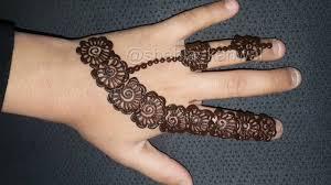 mehndi design for girls easy