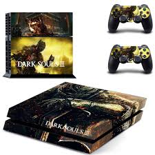 Dark Souls Ps4 Skin Sticker For Sony Playstation 4 Console And 2 Controllers Ps4 Sticker Skin Decal Shopee Philippines