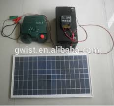 Solar Powered Farm Electric Fence Charger Electric Fence Energiser Controller Solar Powered Electric Fence Energiser Buy Security Farm Fence Charger Security Electric Fence Controller Security Electric Fence Generator For Farm Product On Alibaba Com