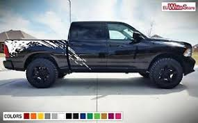 Decal Sticker Side Bed Mud Splash Kit For Dodge Ram 1500 Rear Tail Light Flare Ebay