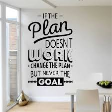 Inspire Office Decoration Motivation Wall Stickers Mural Vinyl Decal Bedroom Inspirational Quote Wall Decals Room Decor Wall Stickers Aliexpress