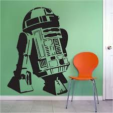 Star Wars R2d2 Decal Graphic Star Wars Wall Decal Murals Trendywalldesigns Star Wars Wall Decal Superhero Wall Decals Star Wars Wall Mural