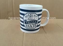 China 11oz Decal Printed Mug Dad S Mug Father S Day Mug 11oz Ceramic Coffee Mug China Ceramic And Mug Price