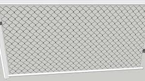 Low Polygon Chain Link Fence 3d Warehouse