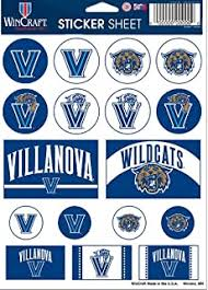 Amazon Com Villanova Wildcats Bumper Sticker Sports Outdoors