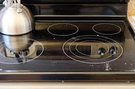 how to clean glass stove top the