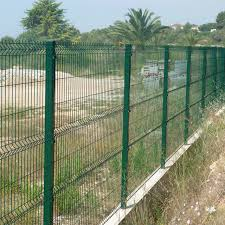 China Pvc Coated 3d Curvel Welded Wire Mesh Garden Fence China Metal Panel Metal Security Panel