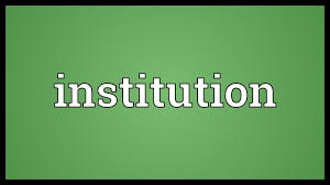 Image result for institution