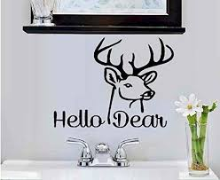 Amazon Com Hello Dear Wall Decal 7 X 9 Kitchen Dining