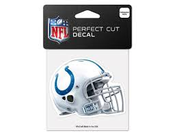 Indianapolis Colts Official Logo 4x4 Ultra Decal Window Cling Newegg Com