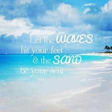 sunny beach quotes to inspire you
