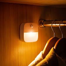 Motion Sensor Led Under Cabinet Light Kids Room Night Light Wardrobe Closet Night Lamp Led Luminaria For Kitchen Stairs Toilet Under Cabinet Lights Aliexpress