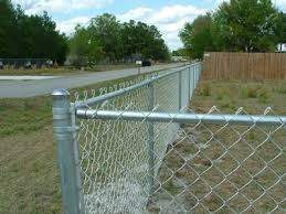 Round Post In 3d Security Fence Chain Link Fence Roll Top Fence