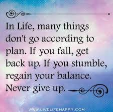 never give up quotes home facebook
