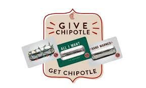 chipotle holiday gift cards