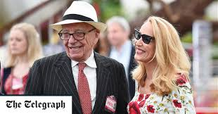 Jerry Hall 'very happy' with marriage to Rupert Murdoch, Georgia ...