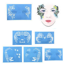 reusable face paint airbrush tattoo