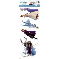 Disney Frozen 3d Removable Wall Stickers Anna Elsa Nursery Girls Room Decals For Sale Online Ebay
