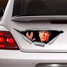Amazon Com Pmxkbzzr Star Trek Decal Car Decal Funny Decal Vinyl Decal Car Decal For Man Spock Decal Kitchen Dining