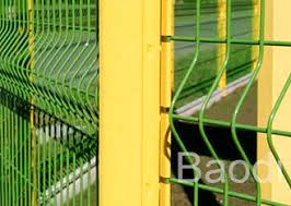 Mild Steel Pvc Coated Wire Mesh Fence Curved Panel Anti Rust Corrosion