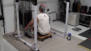 how to improvise your own rowing machine