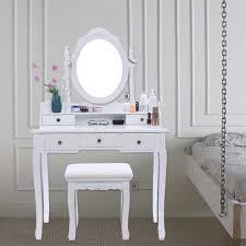 modern vanity makeup dressing table set