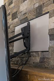 the tv mantel mount solution