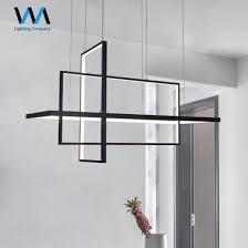china modern cube aluminium led simple
