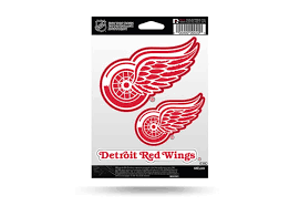 Detroit Red Wings Window Decal Sticker Set Officially Licensed Custom Sticker Shop