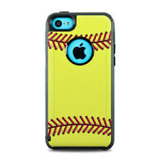 Skin For Otterbox Iphone 5c Softball Sticker Decal Ebay
